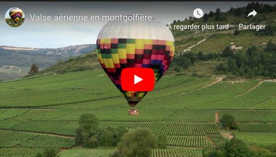 Montgolfiiere en Bourgogne
