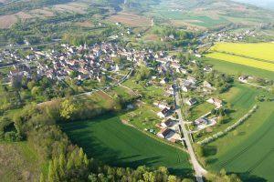 Vol en montgolfière dans la vallée de la Dheune en Bourgogne