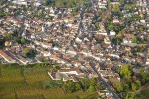 Vol en montgolfière au-dessus de Nuits-Saint-Georges